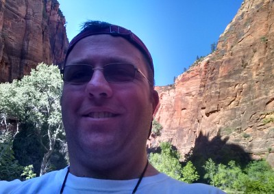 In the Narrows, Zion National Park, Utah