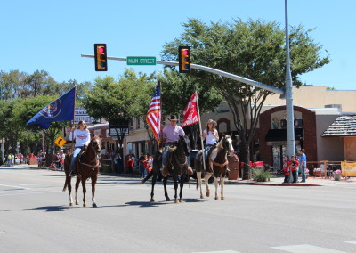 Color Guard, Homecoming Parade, Kanab, Utah